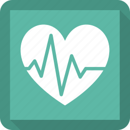 beat, ecg, ekg, heart, heartbeat, pulse, rate icon