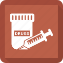 drugs, medication, medicine, pharmacy, pills icon