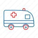 ambulance, doctor, emergency, hospital icon