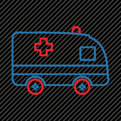 ambulance, doctor, emergency, hospital icon