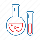 beaker, flask, lab, laboratory icon