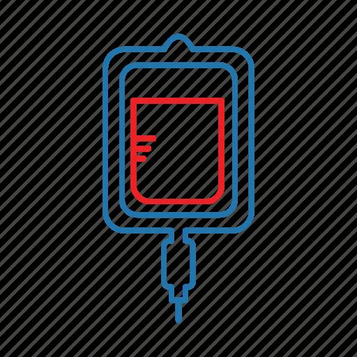 blood, bottle, health, healthcare icon