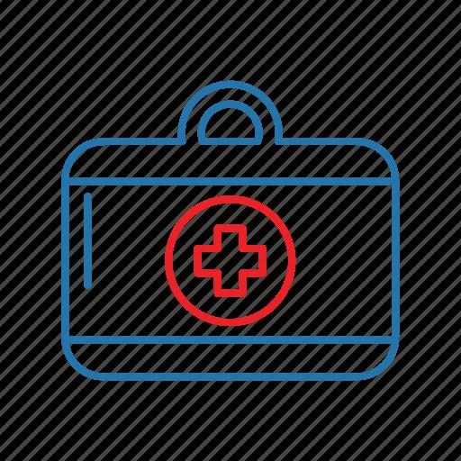 aid, box, first, health, medical icon