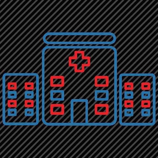 clinic, emergency, health, hospital icon