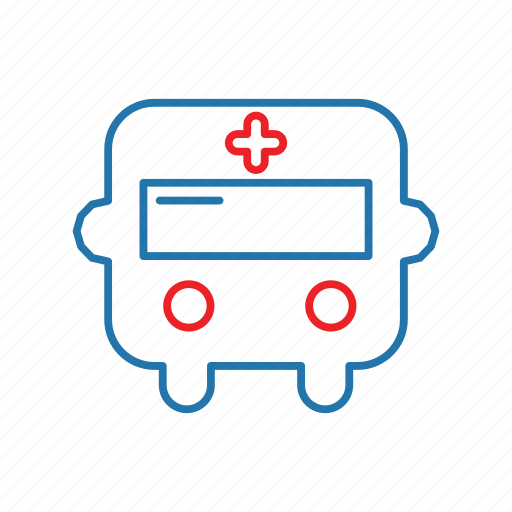 ambulance, emergency, hospital, treatment icon