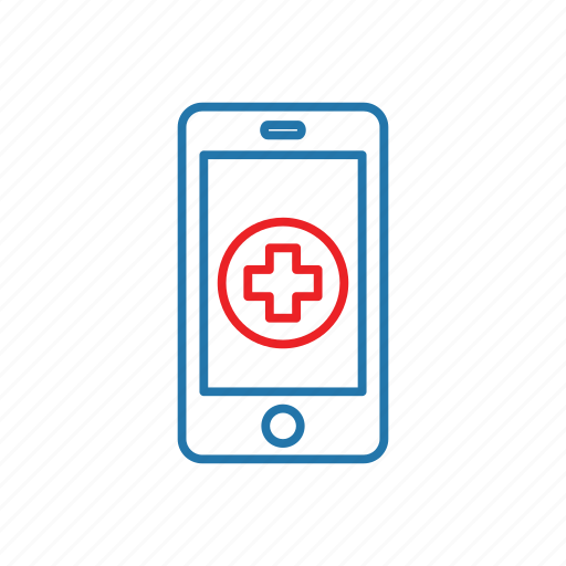 doctor, mobile, obline, smartphone icon