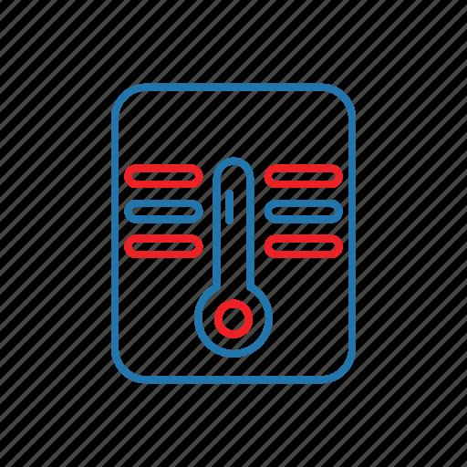 health, medical, temperature, thermometer icon