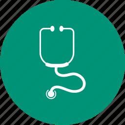 health, medical, medicine, stethoscope, tool icon