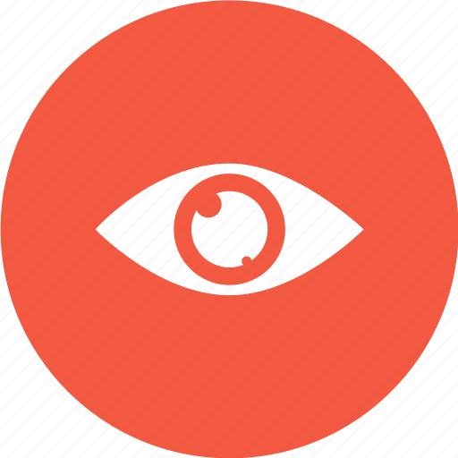 eye, medical, overview, view icon