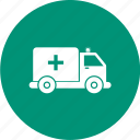 ambulance, emergency, health, healthcare icon