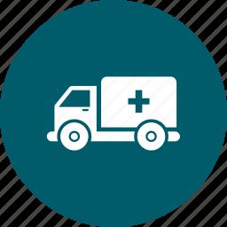 ambulance, emergency, health, healthcare icon