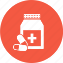 capsule, drugs, medicine, pills icon