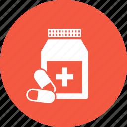 capsule, drugs, medicine, pills icon