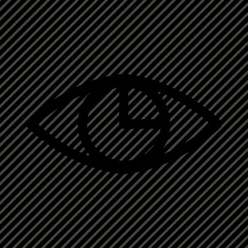 eye, hospital, medical, test icon