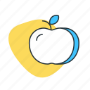 apple, doctor, exercise, fitness, fruit, health, medical icon