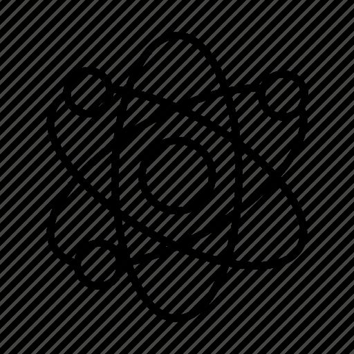 atom, health, healthcare, hospital, medical, medicine icon