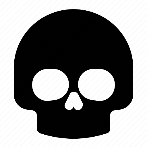 healthcare, medical, skull icon