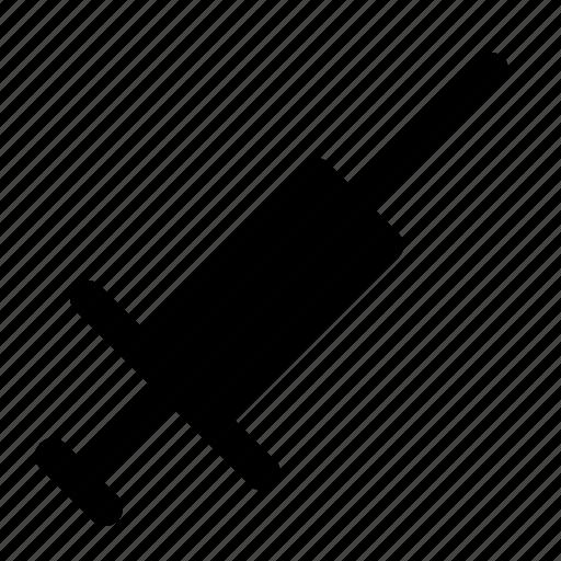 healthcare, medical, syringe icon