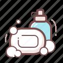 clean, hygiene, sanitation, soap icon