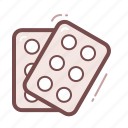 tablets, pills icon