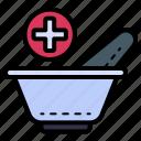 mortar, medicine, drugs, medical, healthcare