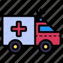 ambulance, vehicle, transportation, emergency, medical