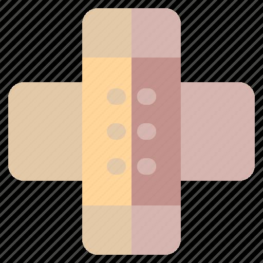 aid, band, band aid, bandage, healthcare, medical, plaster icon