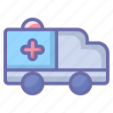ambulance, emergency, healthcare, hospital, medical icon
