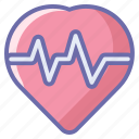 healthcare, heart, heartbeat, hospital, medical icon
