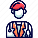 bukeicon, check, doctor, examination, health icon