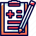 bukeicon, checks, health, hospitals, reports icon