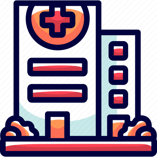 building, bukeicon, cross, health, hospital, medicine, red icon