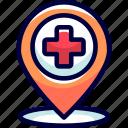 bukeicon, destination, existence, health, location, place, treatment