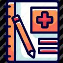 bukeicon, health, history, hospital, medical icon