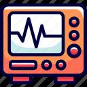 bukeicon, checking, control, health, monitor icon