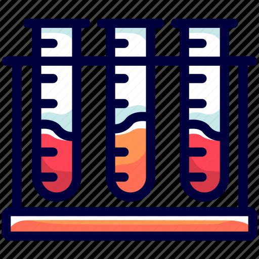 bukeicon, health, lab, results, testing, tube icon