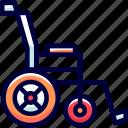 aids, assistance, bukeicon, health, walking, wheelchair, wheels