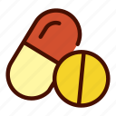 capsule, health, healthcare, medical, medicine, pharmacy, tablet icon