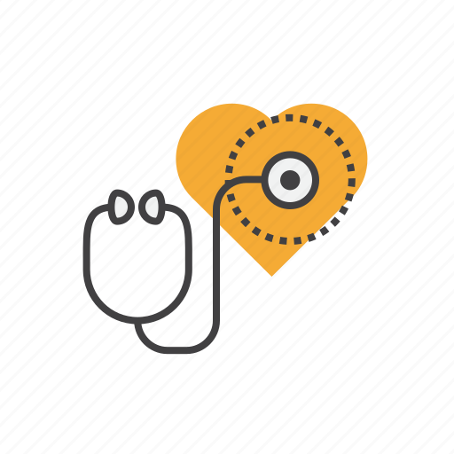 emergency, exam, healthcare, heart, medical icon