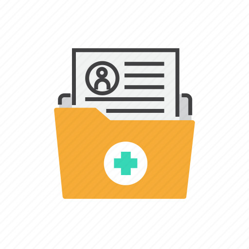 health, healthcare, hospital, medical, medicine, record icon