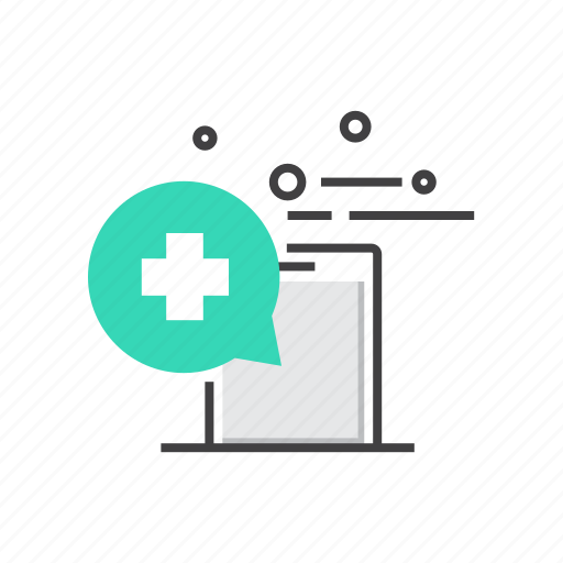 App, communication, interaction, mobile, smartphone, treatment icon - Download on Iconfinder