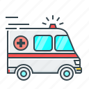 medicine, car, ambulance, auto, medical, transport, automobile