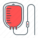 blood, blood transfusion, medical equipment, medicine, transfusion icon