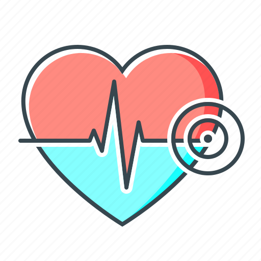 healthcare, heart, heartbeat, heartbeat rate, medicine, rate icon