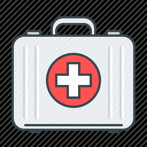 case, medical, medical case, medicine icon