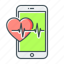 app, healthcare, medicine, mobile, mobile app icon