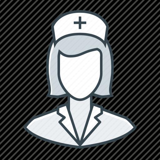 healthcare, medicine, nurse, woman icon