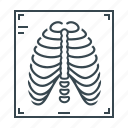 medicine, ribs, rib cage, x-ray, fluorography