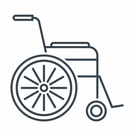disabled, invalid, medicine, wheelchair icon