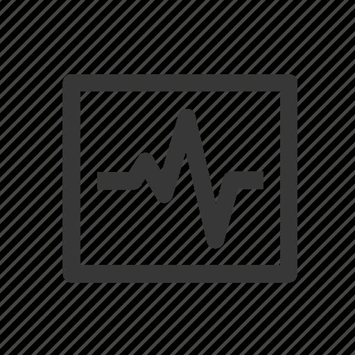 health, healthcare, hospital, medical, medicine, pulsation chart, pulse, raw, simple icon